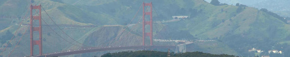 Westward View of Golden Gate Image
