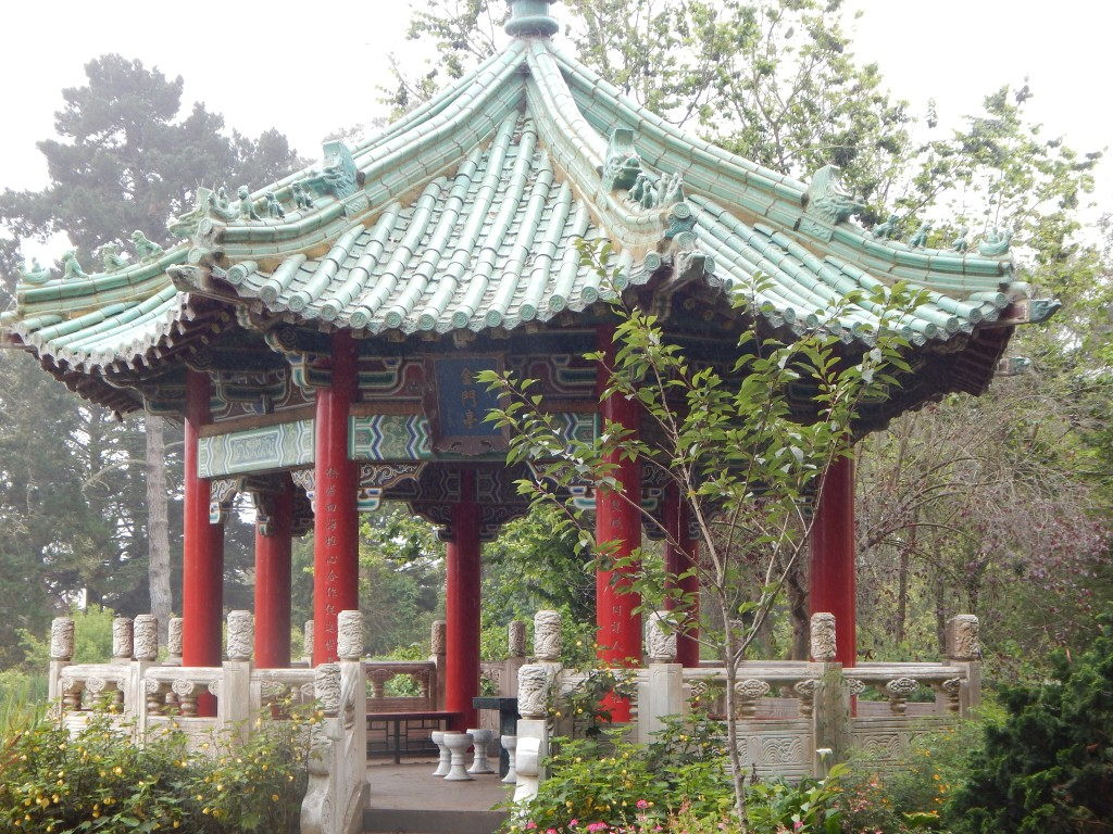 chinese pavilion, golden gate park san francisco