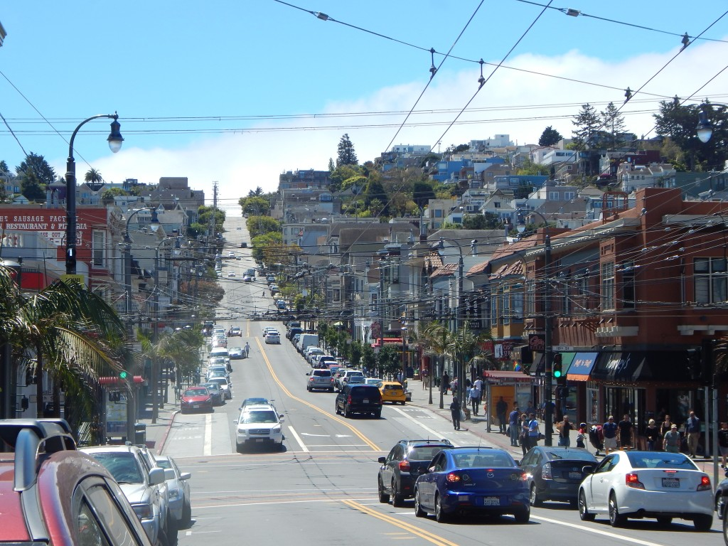One more look back before we leave. Castro Street southward view from corner of 18th.
