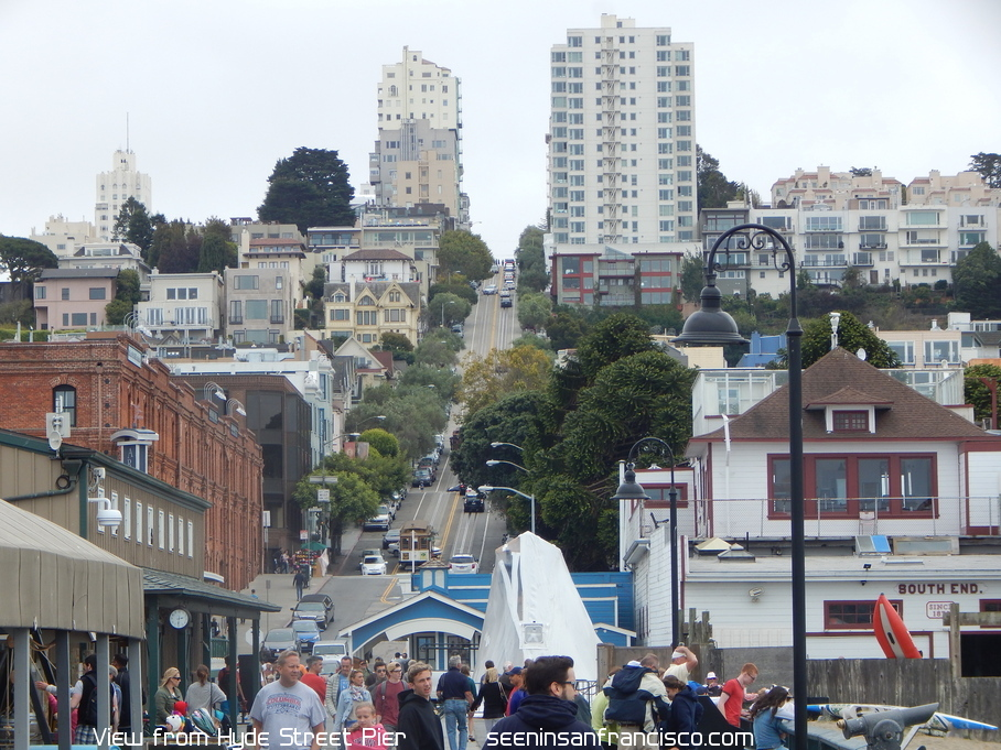 hyde street san francisco, view from pier
