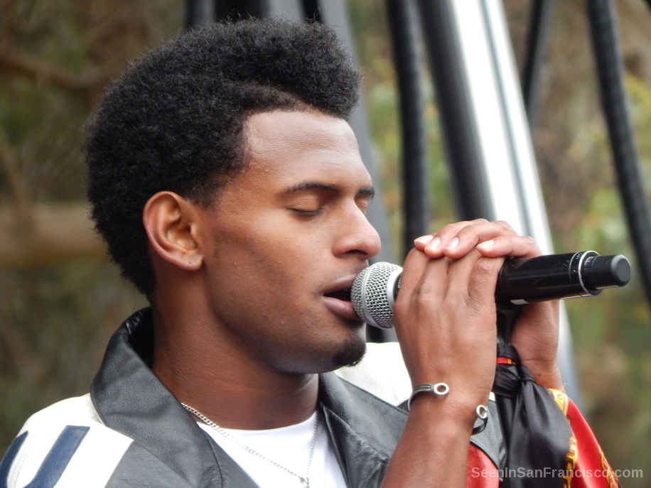 con brio singer at outside lands music festival 2016
