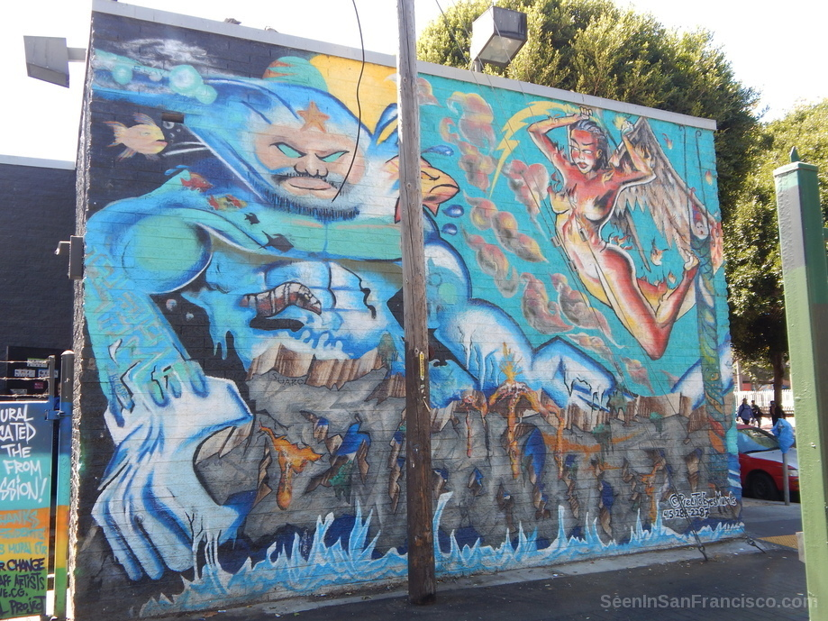 culture of the crossroads, lilac alley murals