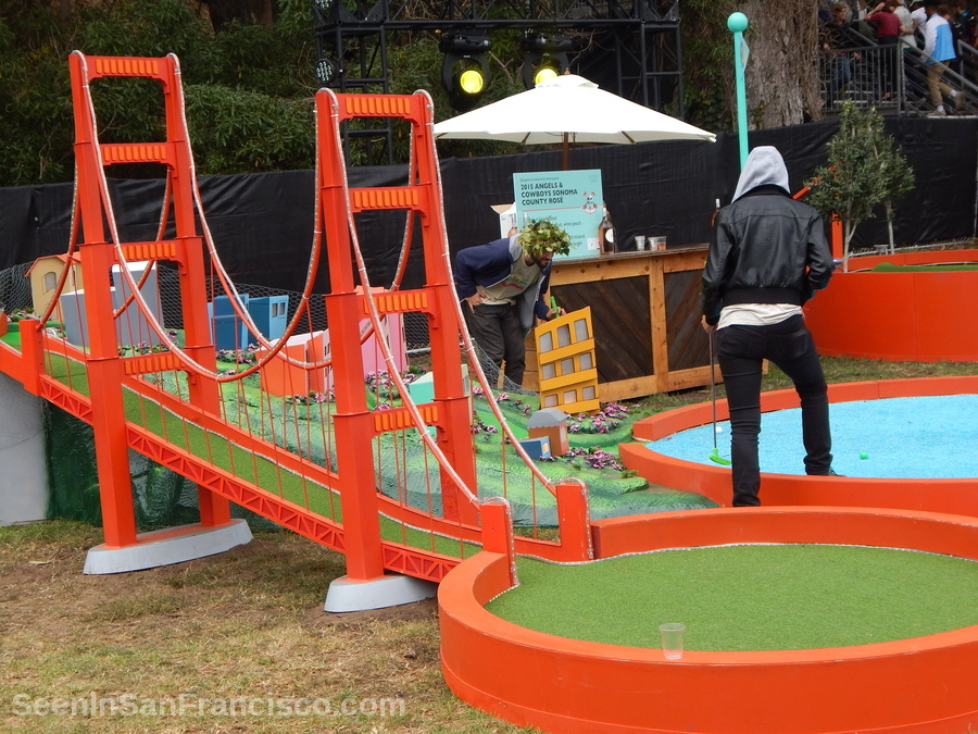 golden gate bridge miniature golf, outside lands festival
