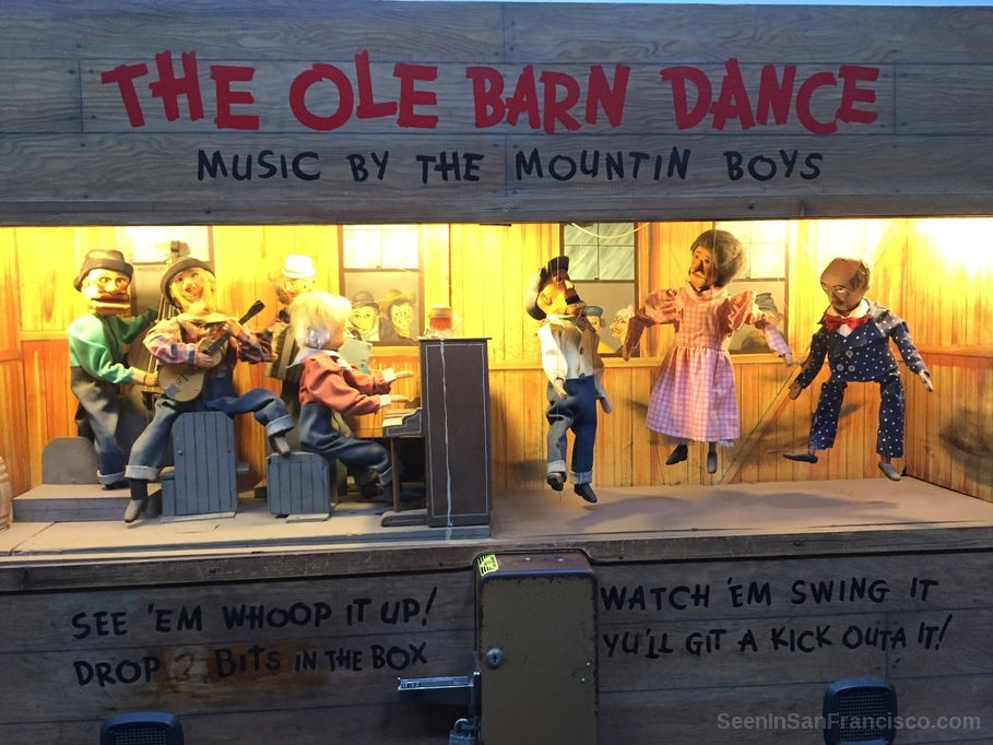 ole barn dance musee mecanique san francisco
