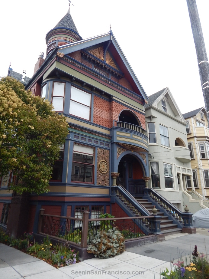 victorian mansion, haight-ashbury san francisco