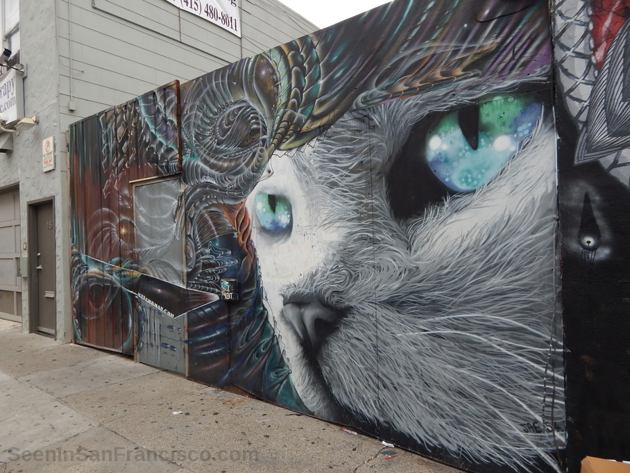 artist max ehrman cat mural
