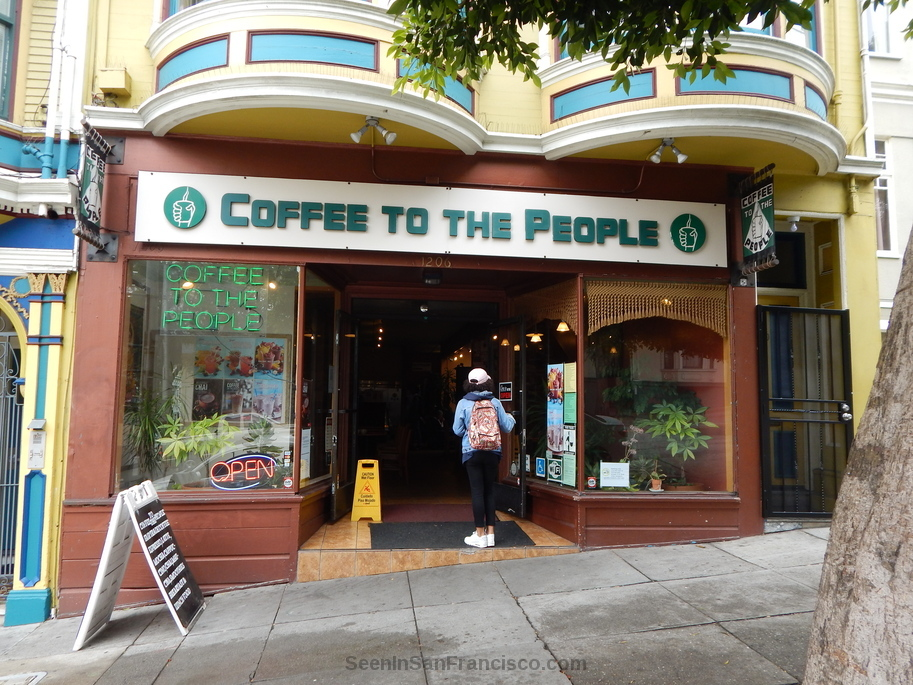 coffee to the people san francisco