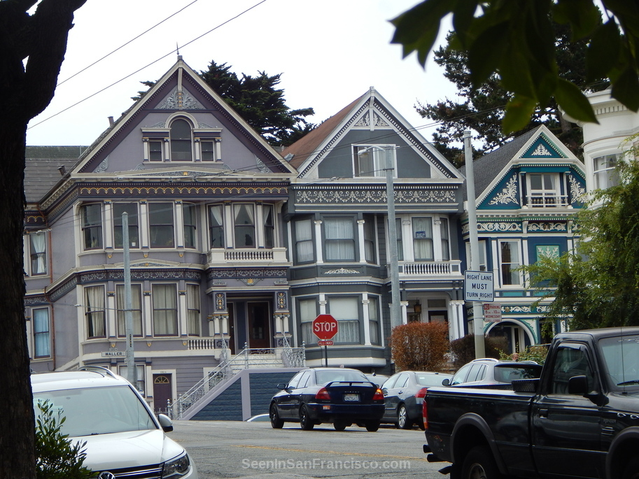 victorian homes haight ashbury san francisco